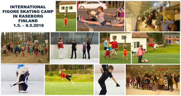 INTERNATIONAL FIGORE SKATING CAMP IN RASEBORG, FINLAND, 1.5. – 8.5.2018