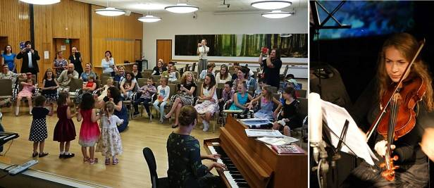 Anna Vainshtein sello Music camp Finland 2018